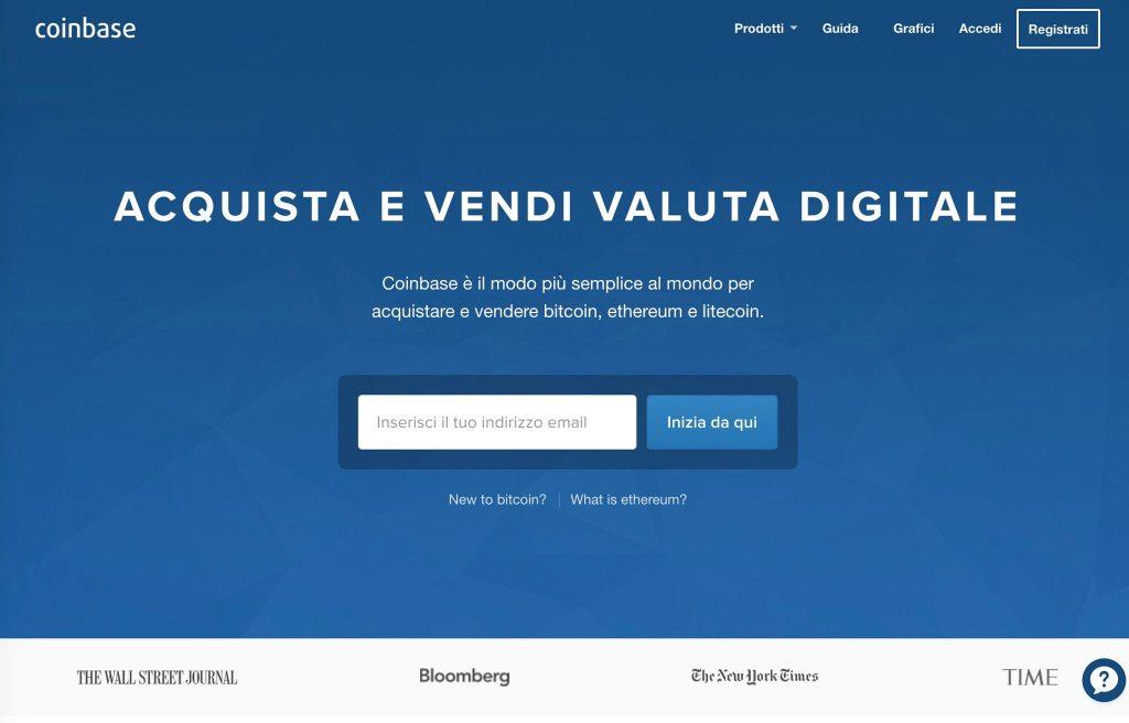 Coinbase Italia