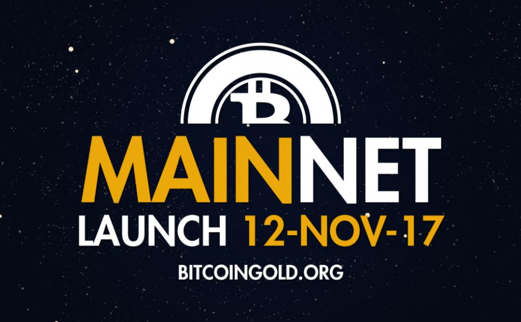 Bitcoin Gold 12 Novembre