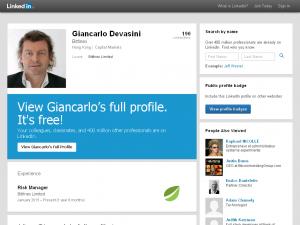 Giancarlo Devasini Bitfinex