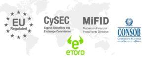 eToro Regolamentazioni CySEC CONSOB MiFID