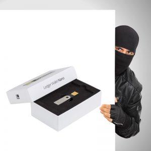 La truffa del portafoglio fisico hardware wallet Ledger per le criptovalute