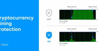 Opera e la protezione dal mining per smartphone e desktop