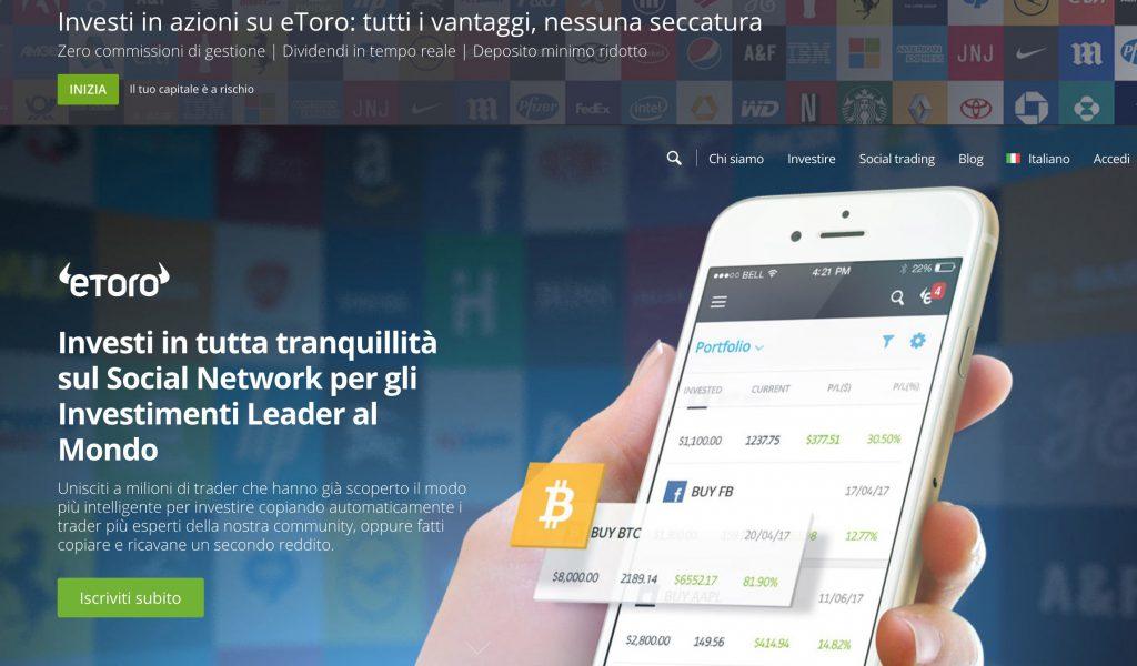eToro Social Copy Trading