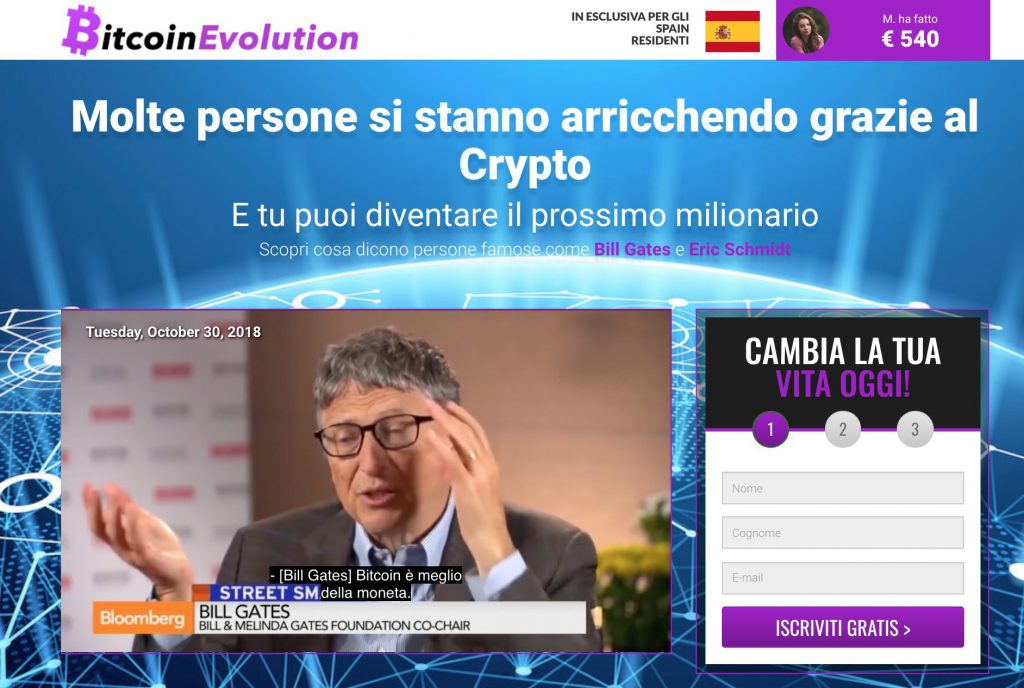 Bitcoin Evolution Bill Gates