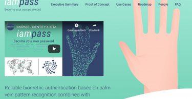 IOTA la criptovaluta verrà utilizzata per un sistema di riconoscimento biometrico