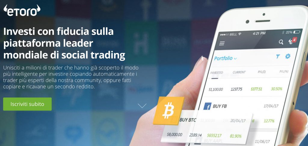 eToro Bitcoin Evolution