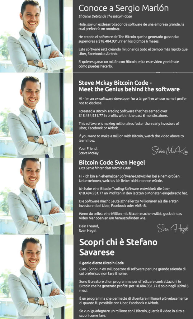 Le numerose identita di Stefano Savarese