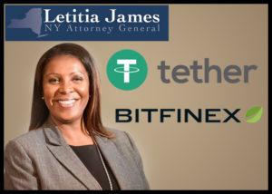 Letitia James Bitfinex