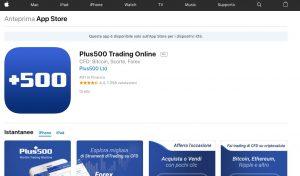 Plus500 App Store