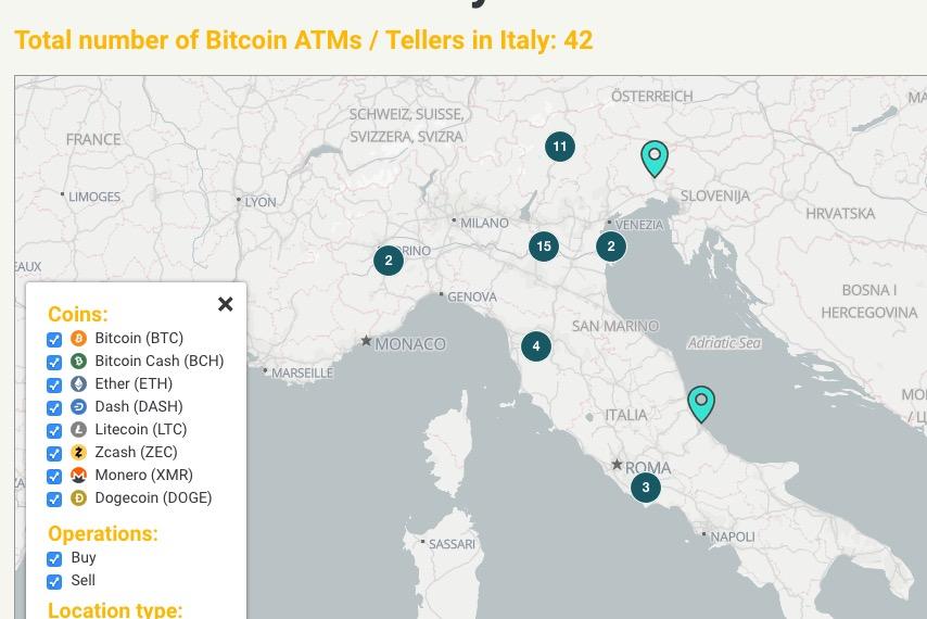 CoinAtmRadar Italia