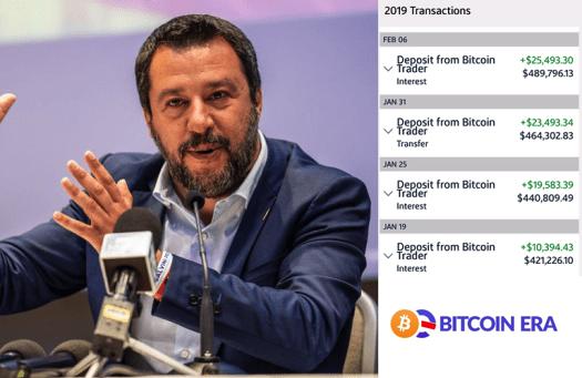 Matteo Salvini Bitcoin Era