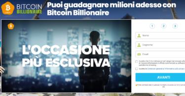 Bitcoin Billionaire Truffa o Funziona
