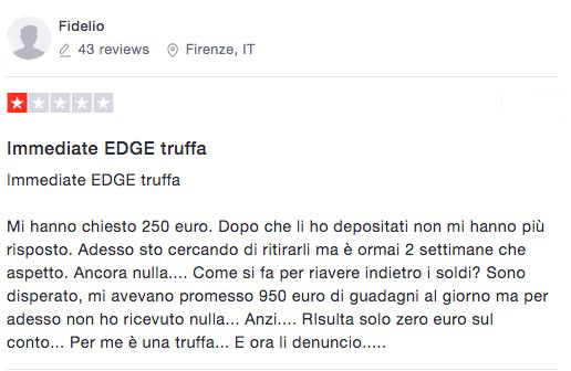 Immediate Edge Recensioni