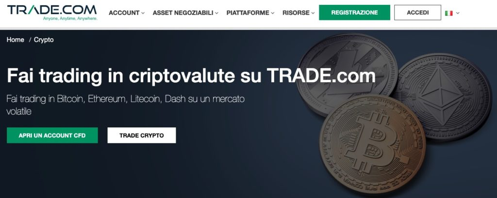 Trade.com Wallet Bitcoin