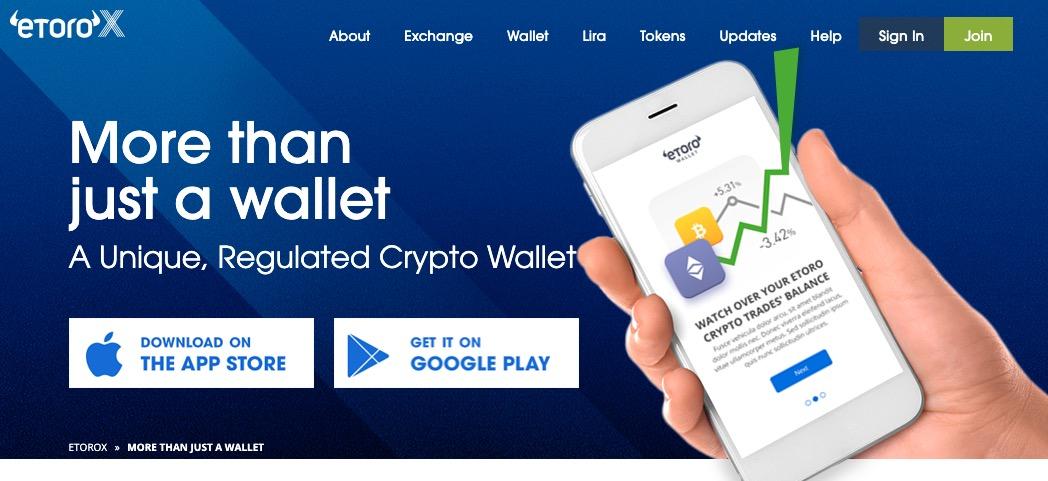 eToroX eToro Wallet