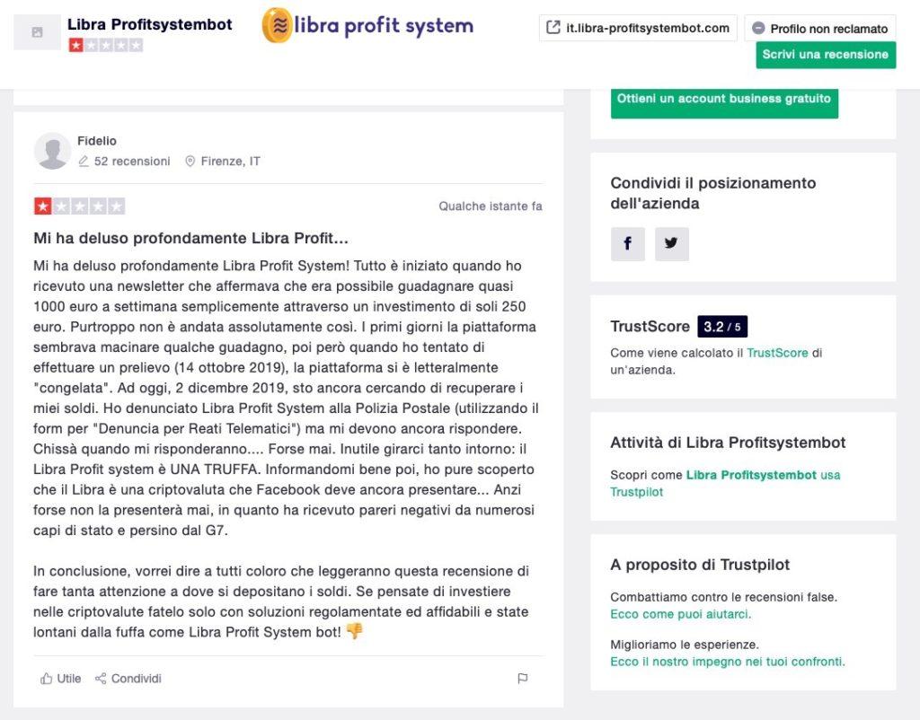 Libra Profit System Recensione