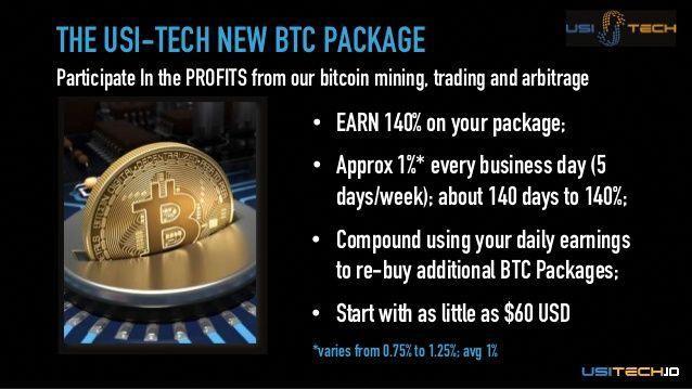 Usi Tech Pacchetti Mining Bitcoin
