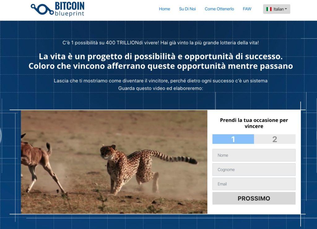 Bitcoin Blueprint Truffa o Funziona