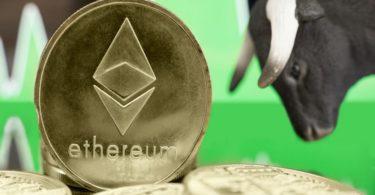 Ethereum ETH mostra segni di ripresa