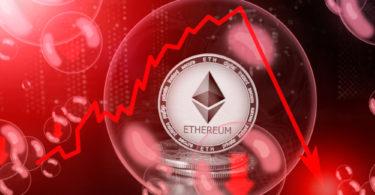 Ethereum perde il 43% in un giorno