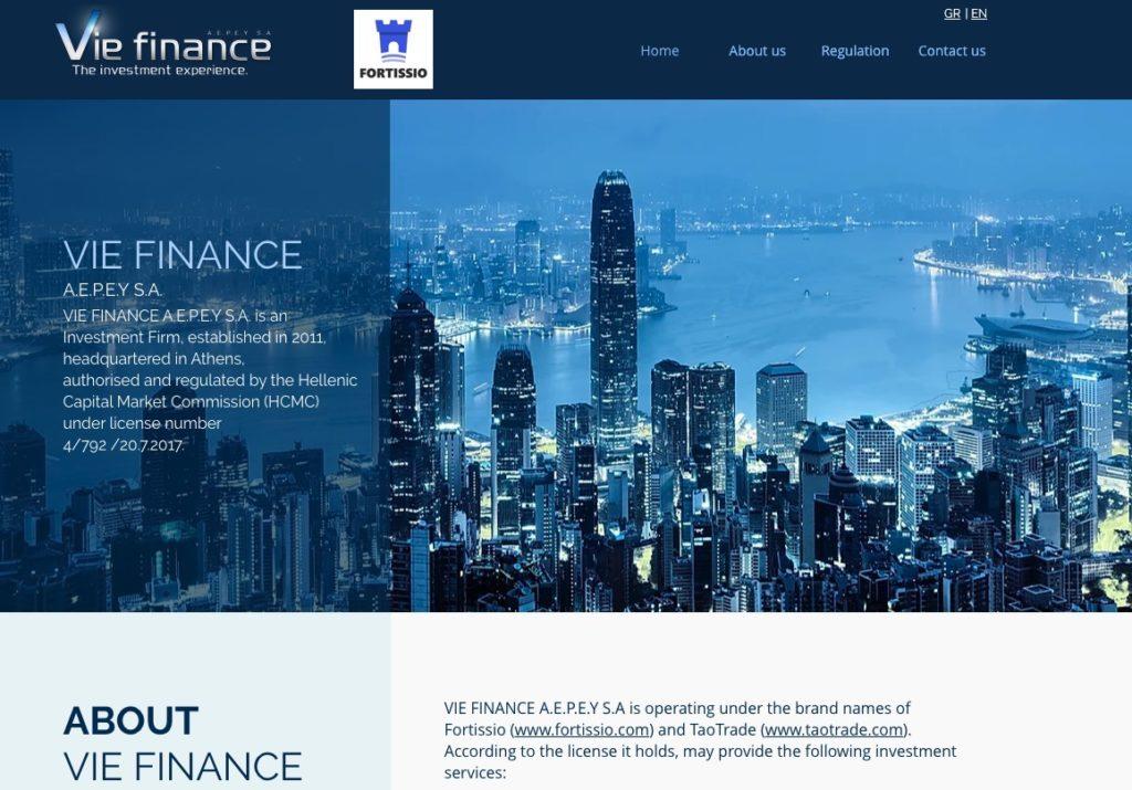 VIE Finance Informazioni Societarie