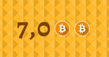 Bitcoin (BTC) ha superato i 7000