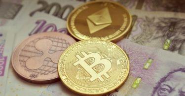 bitcoin, ethereum e ripple