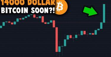 Bitcoin è lanciato verso i 14.000