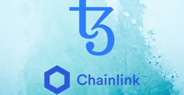 loghi tezos e chainlink