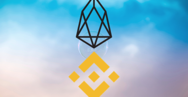 eos e binance coin logo