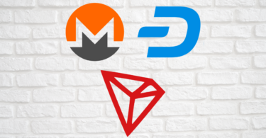 monero dash tron logo