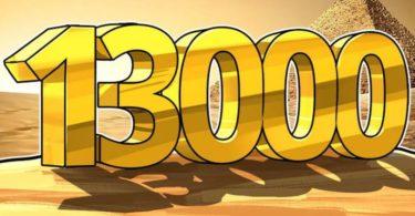 Bitcoin presto a 13.000