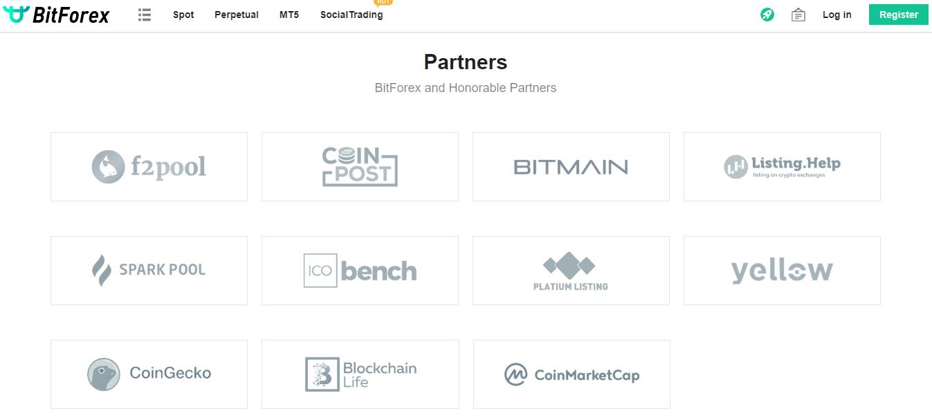 BitForex Partners